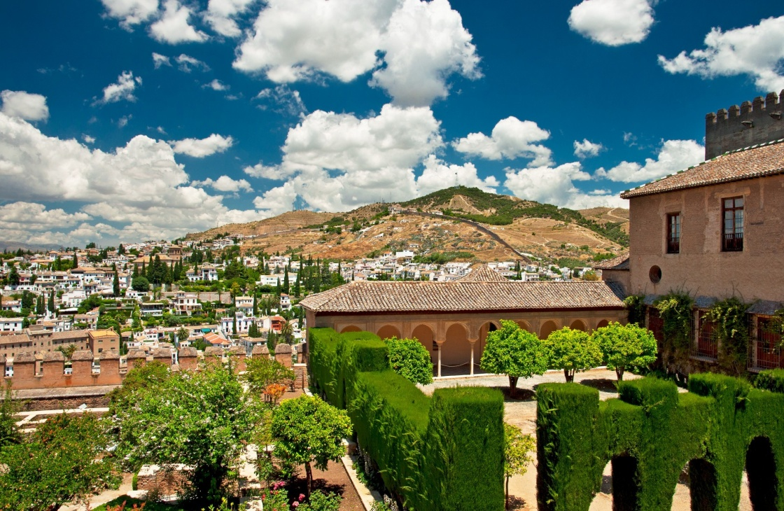 El Alhambra in Granada, Spain