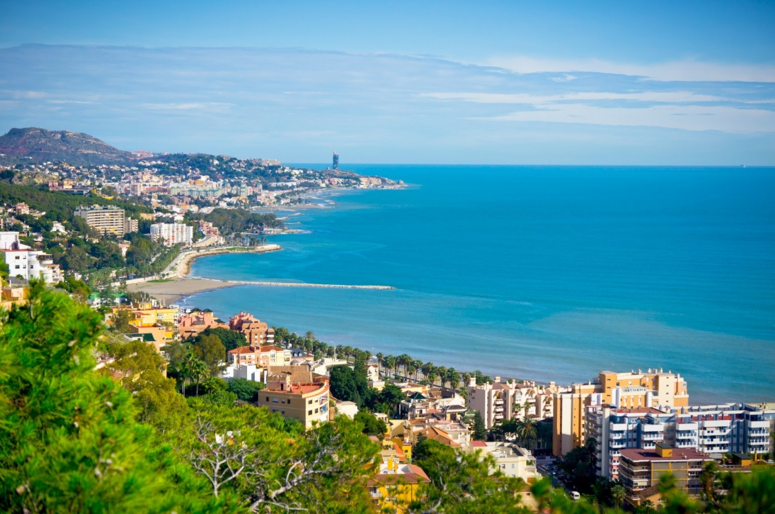 'Beautiful view of Malaga city, Spain' - Andalusia